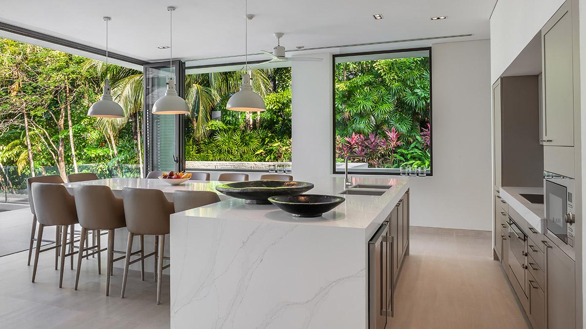 Kitchen Area - Villa Vikasa Phuket